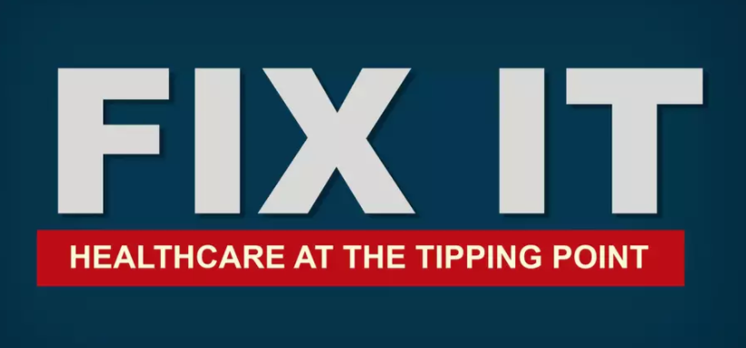 A powerful documentary that reaches across the political and ideological divide.  Fix It: Healthcare at the Tipping Point  makes the case for business leaders' support for major healthcare reform.