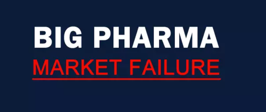 Big Pharma:Market Failure  explores the problem of extreme drug prices in the US and how drug cost impacts on the public, on businesses and the overall US economy.