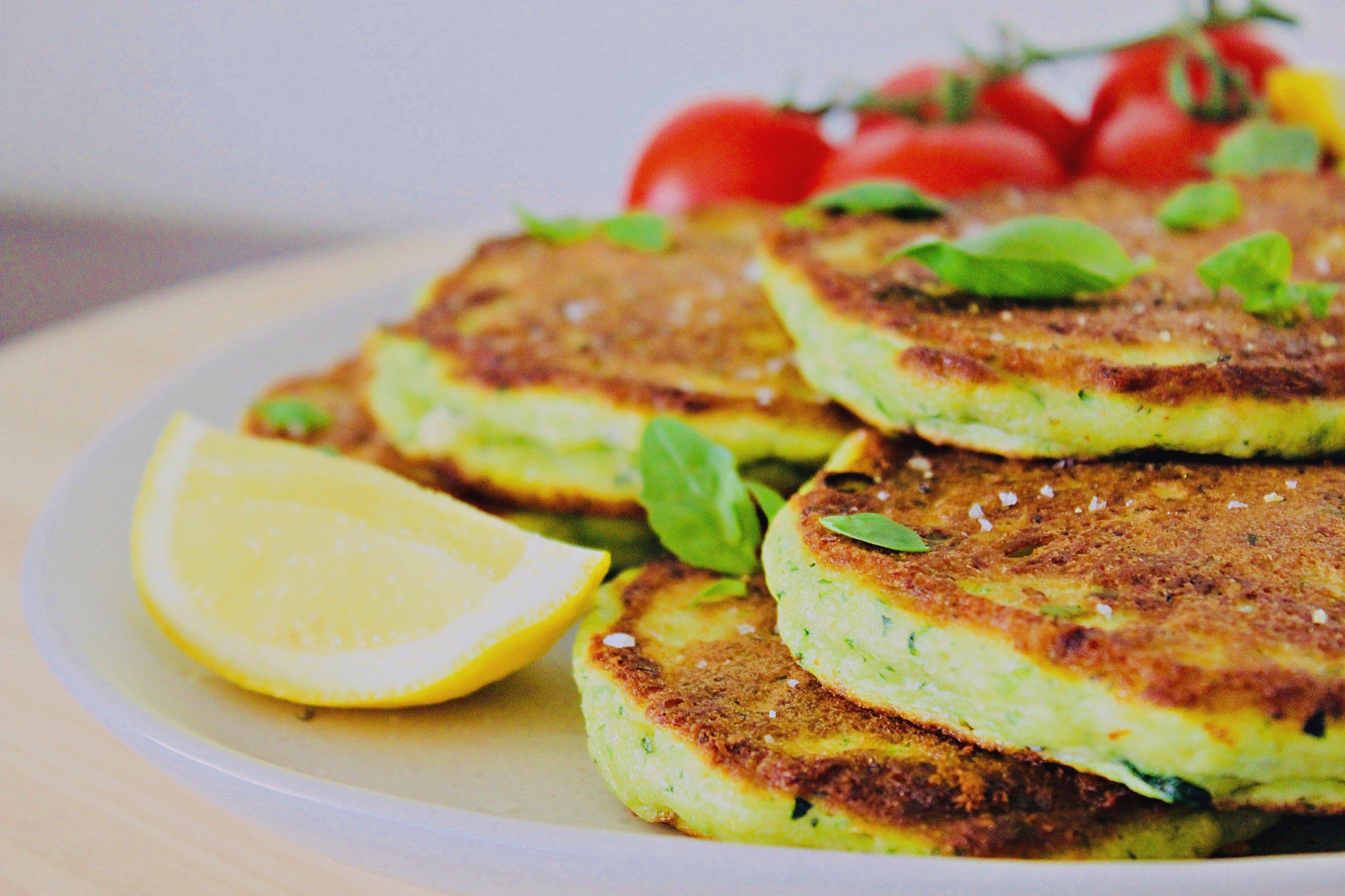 Zucchini, Feta & Basil Fritters.jpg