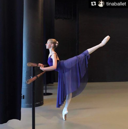 - @TINABALLETChristina is also a dancer from the Royal Swedish ballet school and a wonderfully gifted dancer.