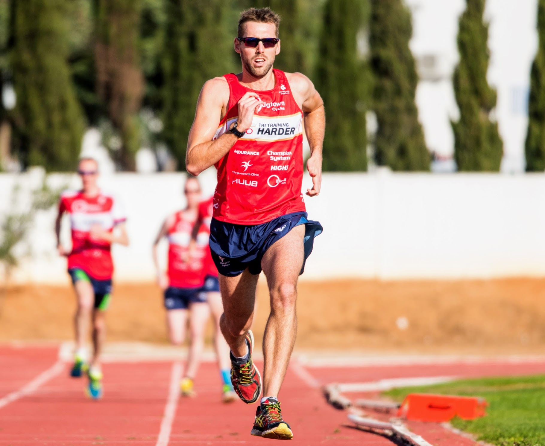 Running can be a contributing factor to ITBS, especially on a track if only gong one way!