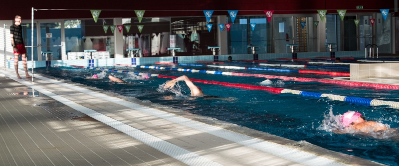 Swim training doesn't need to be a lonely session
