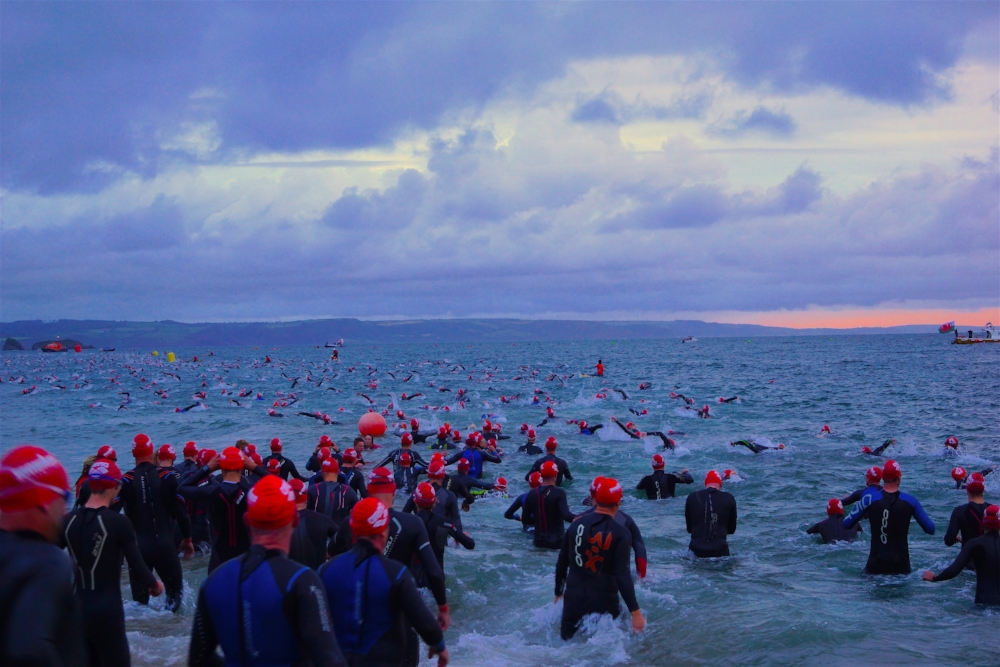 A great IRONMAN Swim can set you up for the day ahead