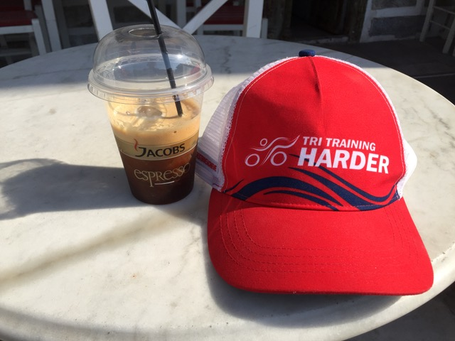 Summary of my camp: Tri Training Harder, and amazing Greek iced coffee!