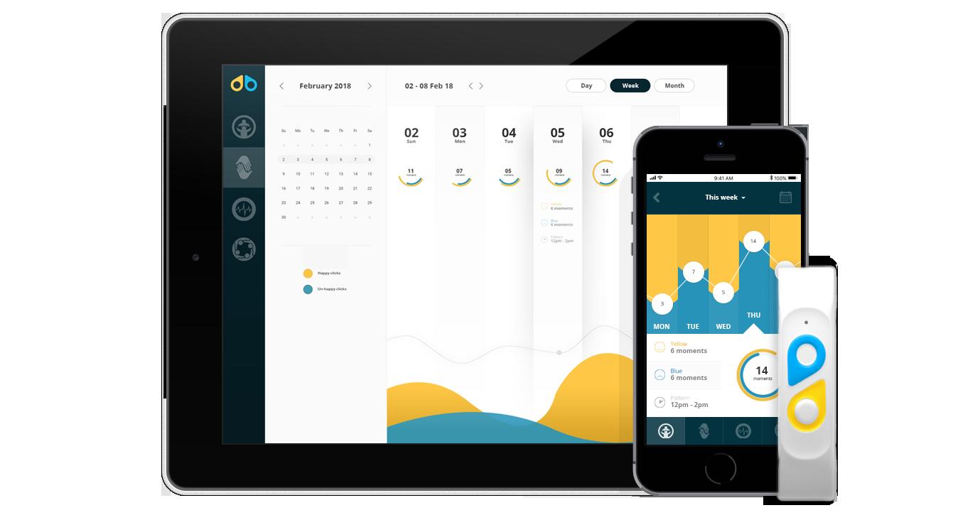 Moodbeam IoT app