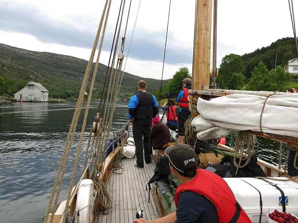 IDYLL:  Rugsund yst i Nordfjord kan måle seg med den finaste Sørlandsidyll.