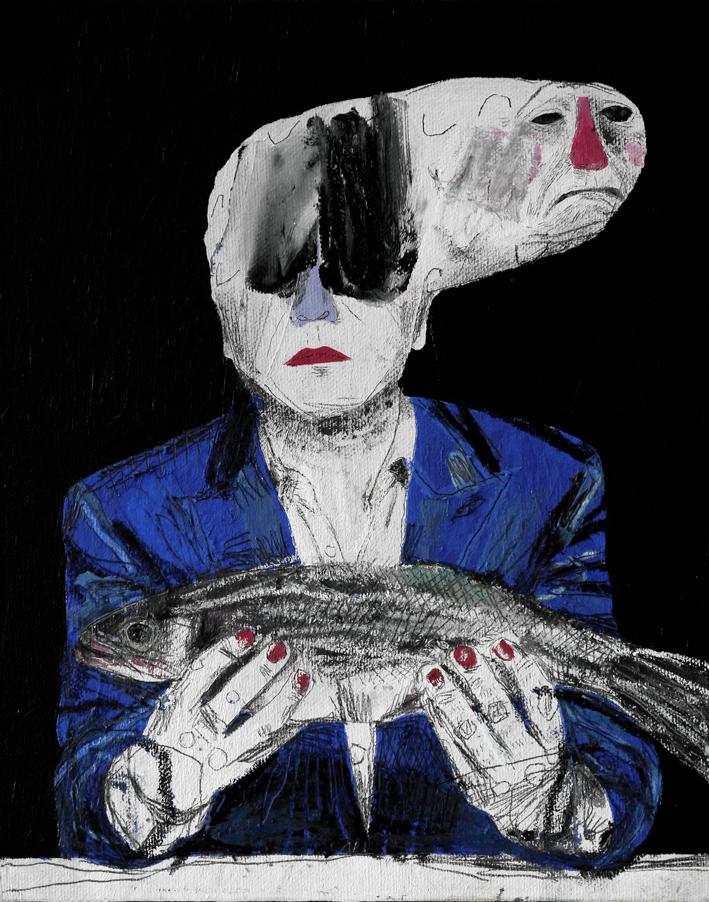Meditation on a dead fish.