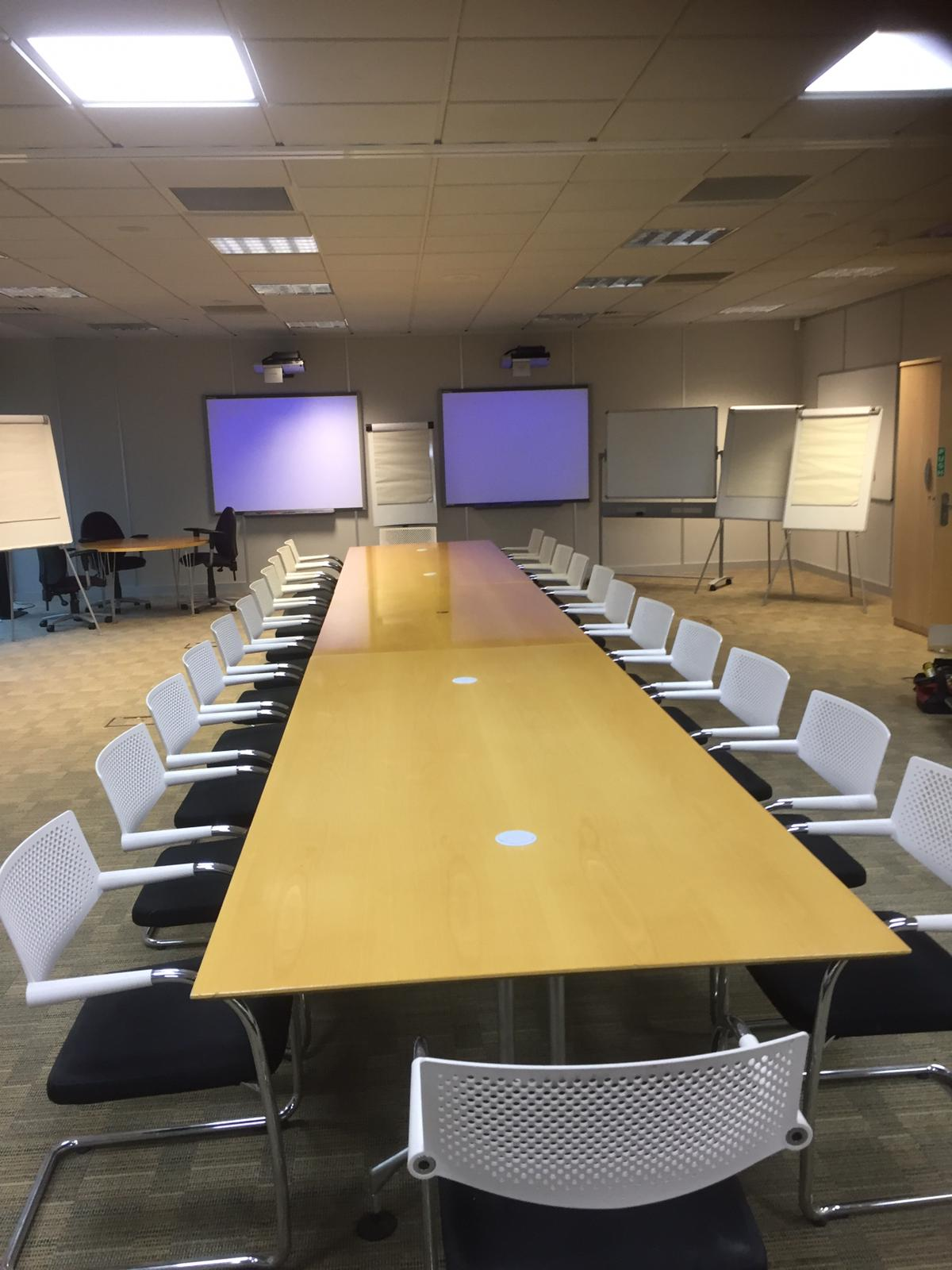 Short Term Hire - Training Room Furniture for 35 people