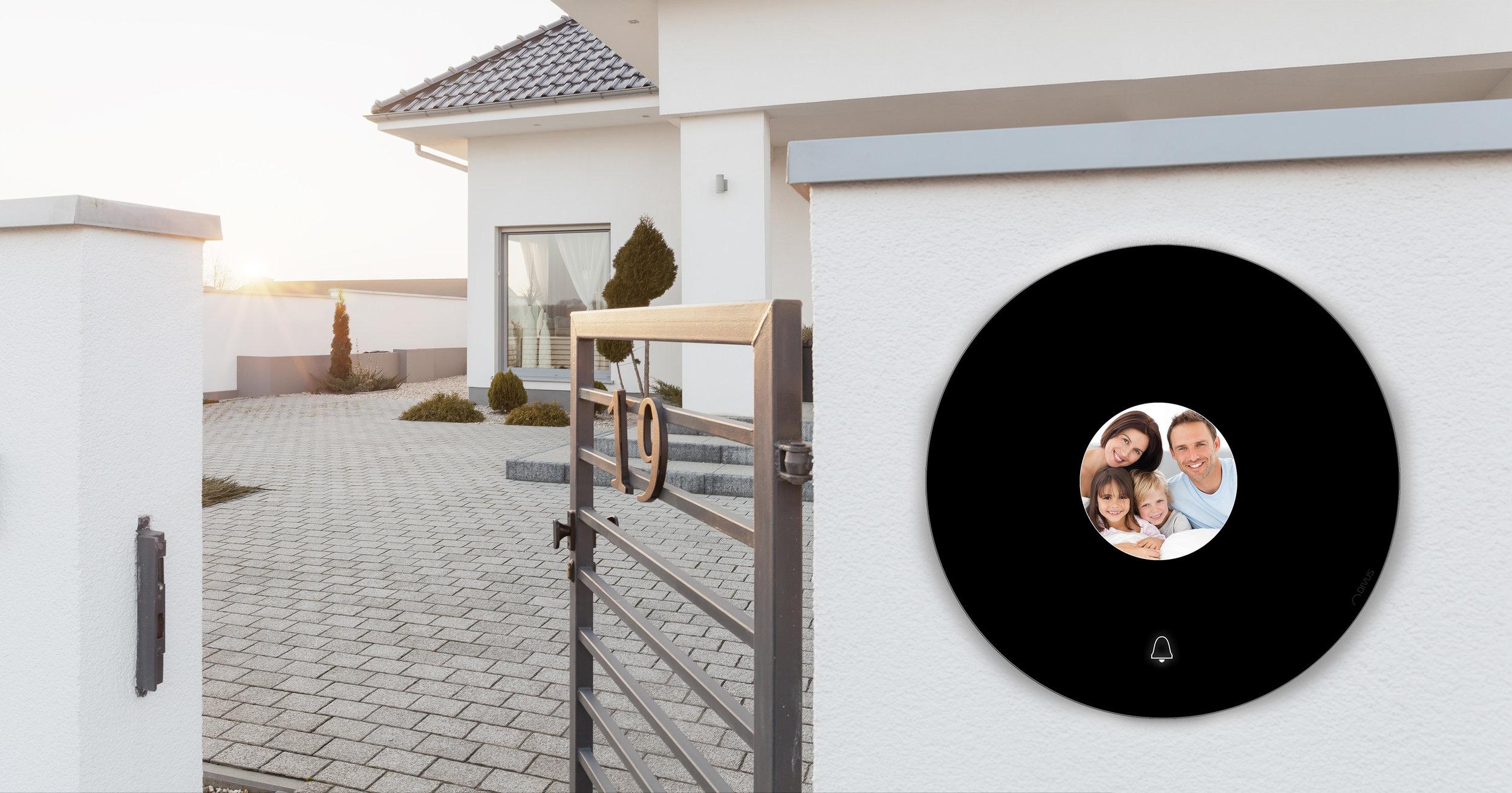 DIVUS CIRCLEmehr als nur eine Klingel - Innovativ, einzigartig, rund! Die neue Türsprechanlage von DIVUS.Design by BEYOND GREEN