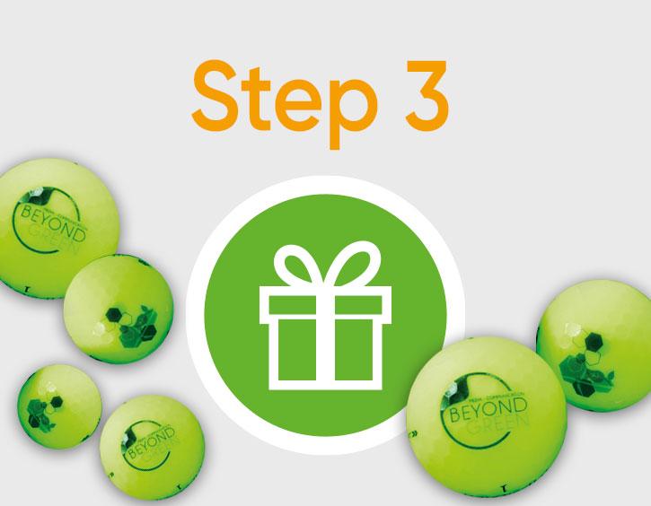 Holen Sie sich Ihre grünen Golfbälle an der Rezeptiondes Golfclubs Eppan Blue Monster* - Wir wünschen Ihnen viel Spaß mit Ihren coolen neuen Bällen!
