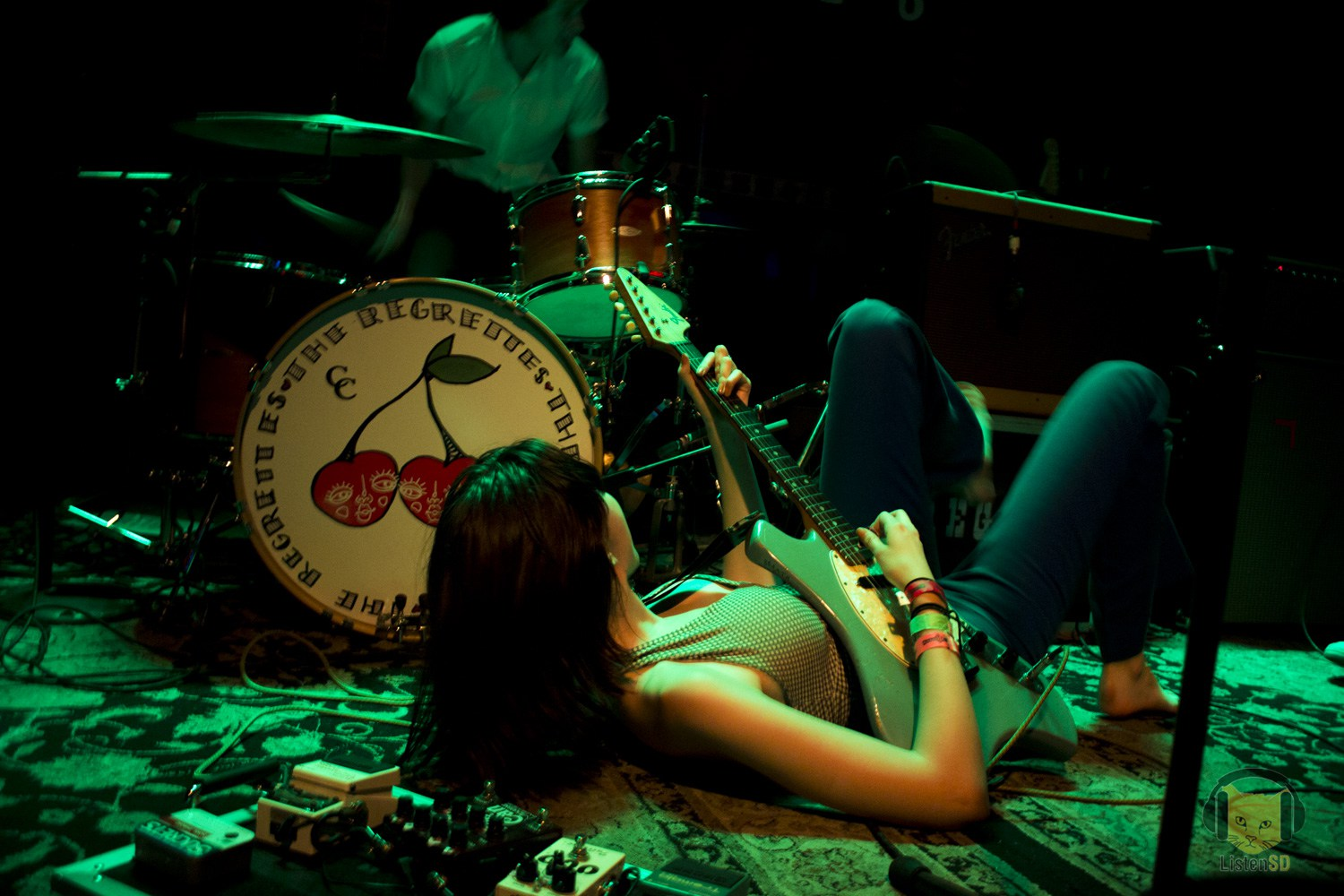 The Regrettes at House of Blues Voodoo Room - Los Angeles sweethearts The Regrettes brought the soul of punk and the golden heart of a goddamn good time to House of Blues San Diego's compact and intimate Voodoo Room.