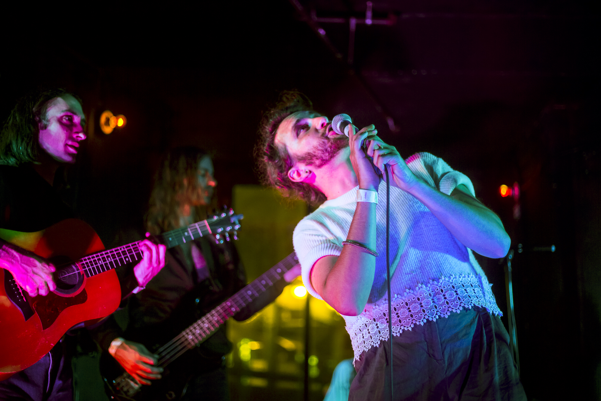 Drugdealer @ Market Hotel - Drugdealer put on an over the top release show for Raw Honey, Michael Collins' latest psychedelic pop album.