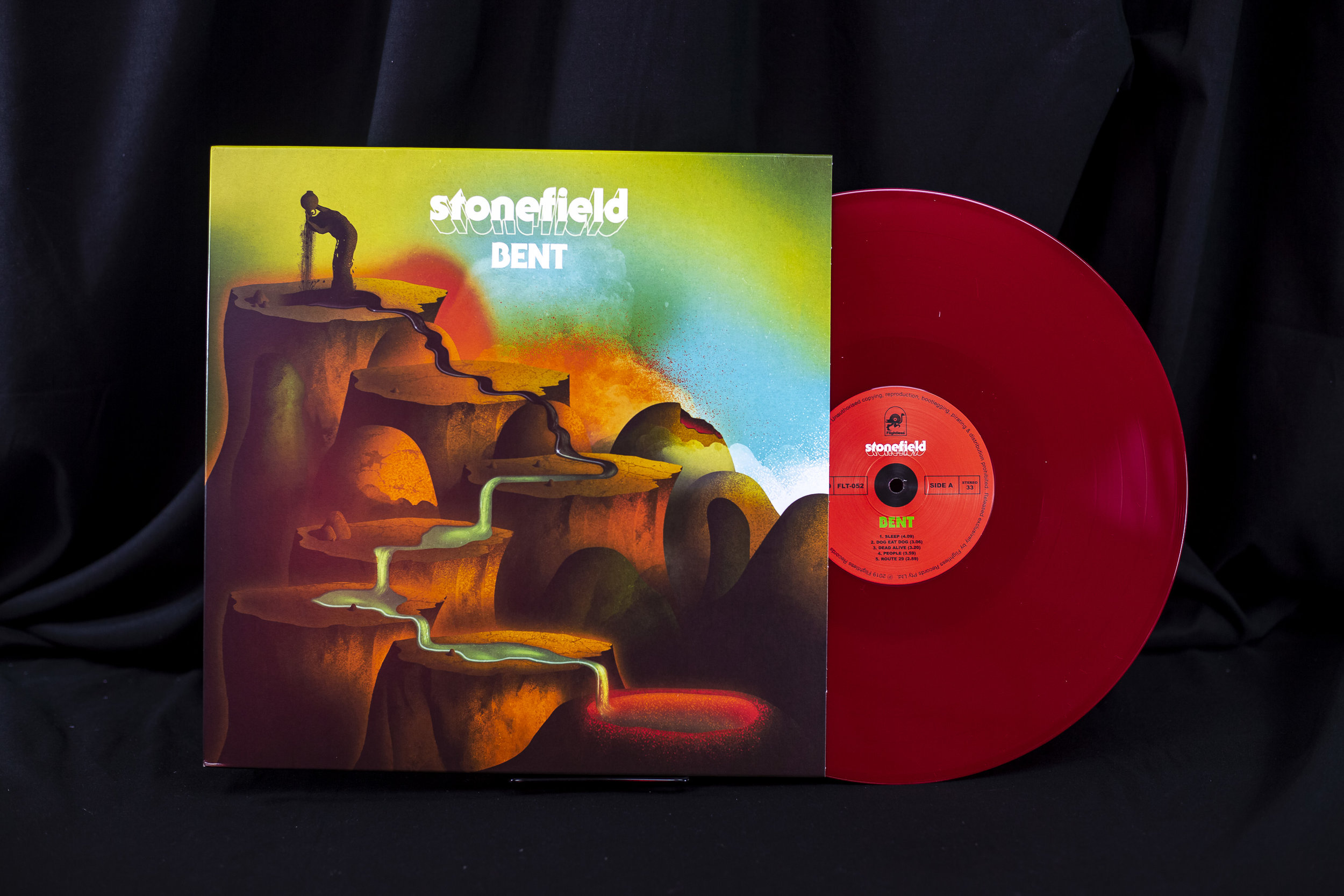stonefield - bent (red)