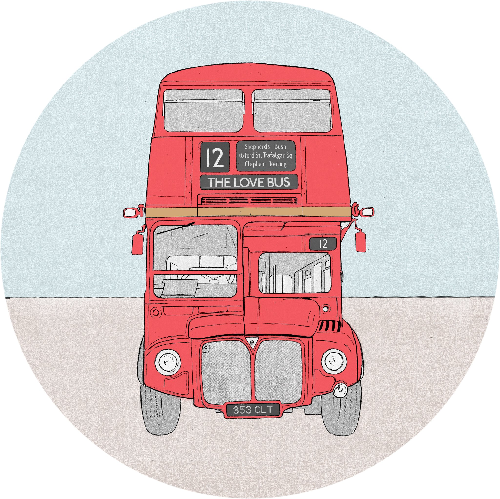 The Red Bus/Love Bus