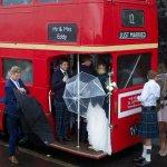 The Red Bus/umbrella