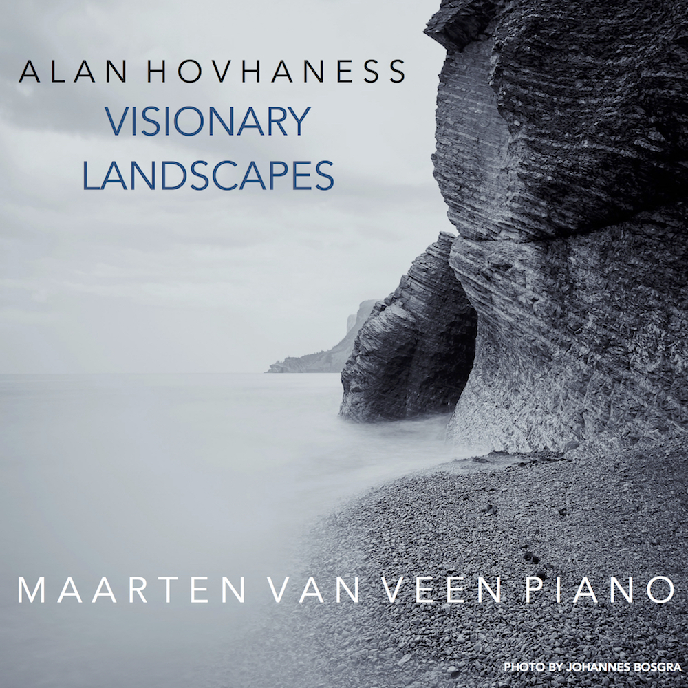EP Visionary Landscapes with my image as cover art: View on Cap-Bon-Ami, Parc national Forillon, Quebec, Canada, 2016
