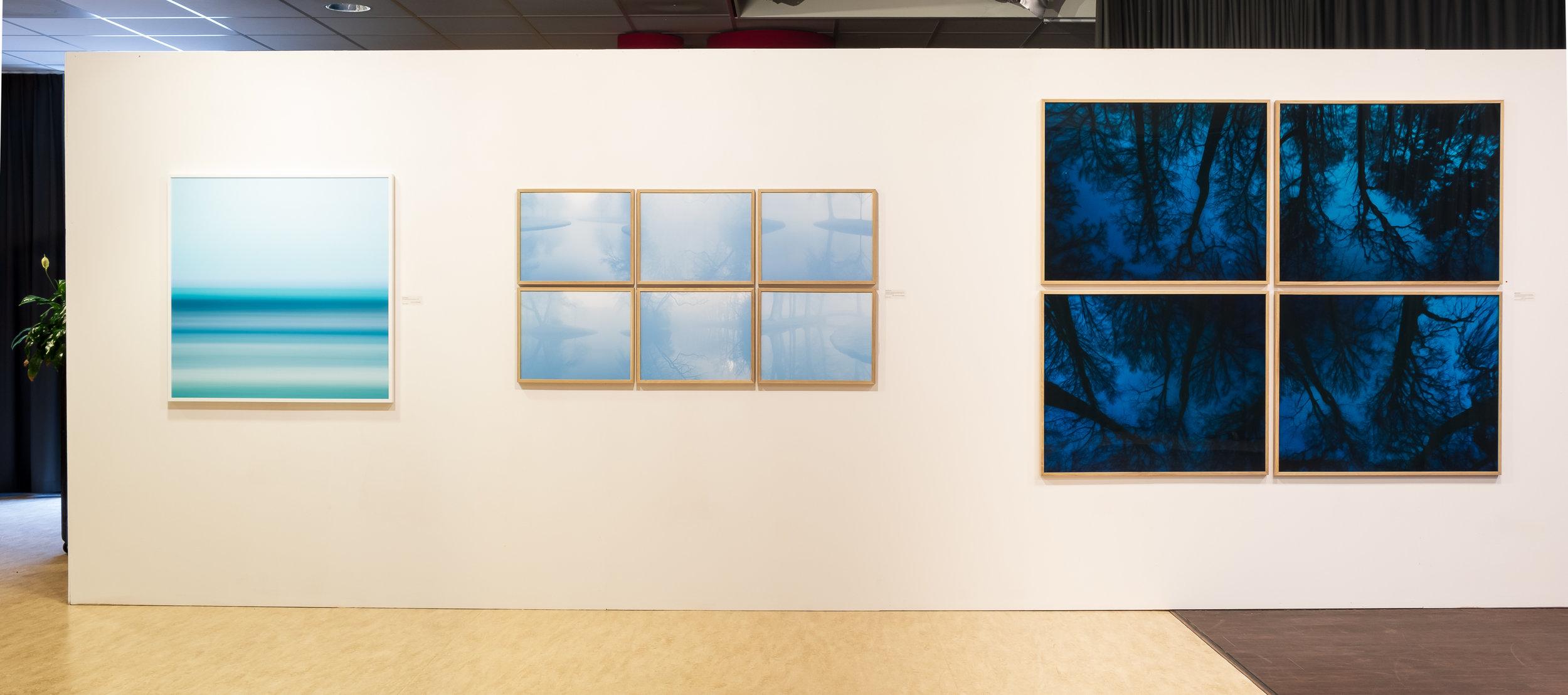 Solo exhibition Kunstroute Open Stal 2019, art route in Oldeberkoop, NL
