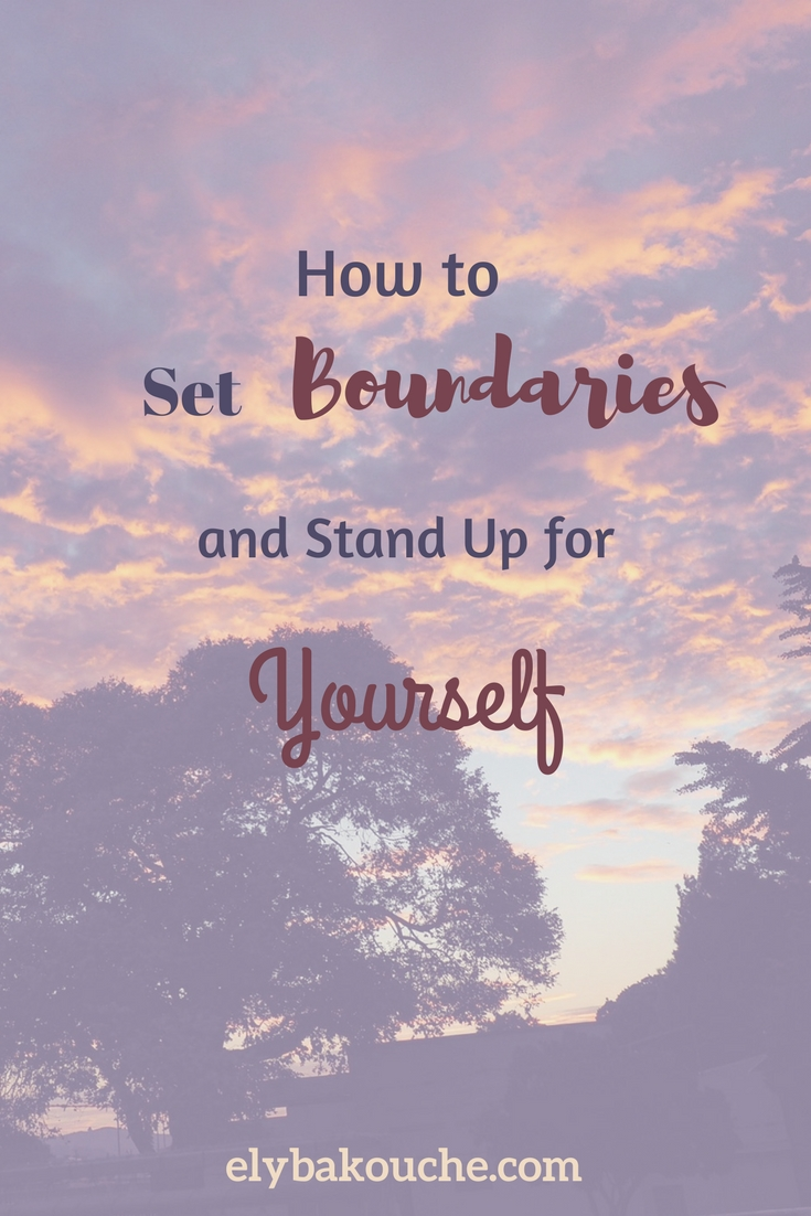 How to set boundaries and stand up for yourself as an introvert