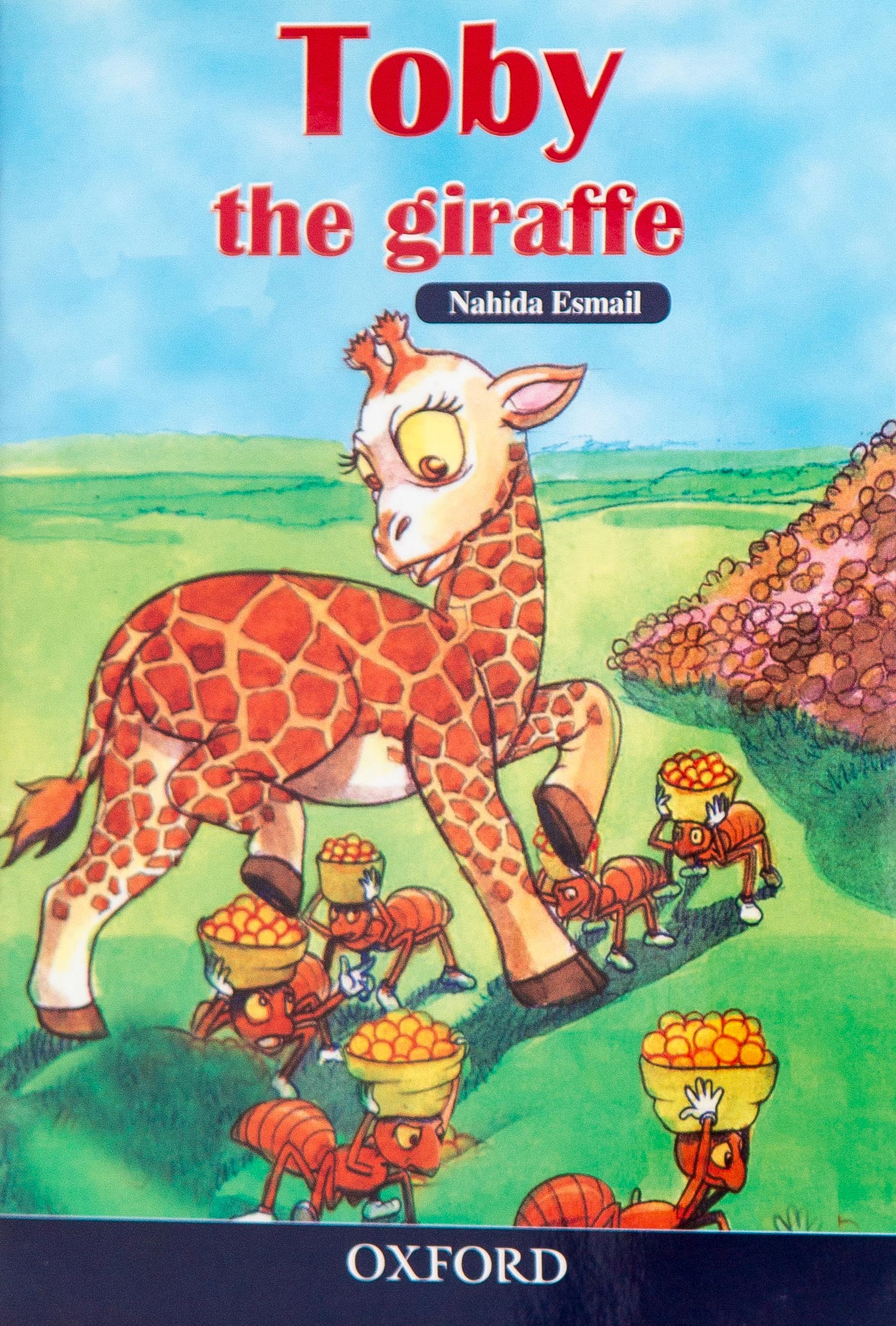 - Toby the giraffe is for children aged 5 – 8 years. It is a story about the giraffe that is getting ready to visit his friends as they count one to ten.