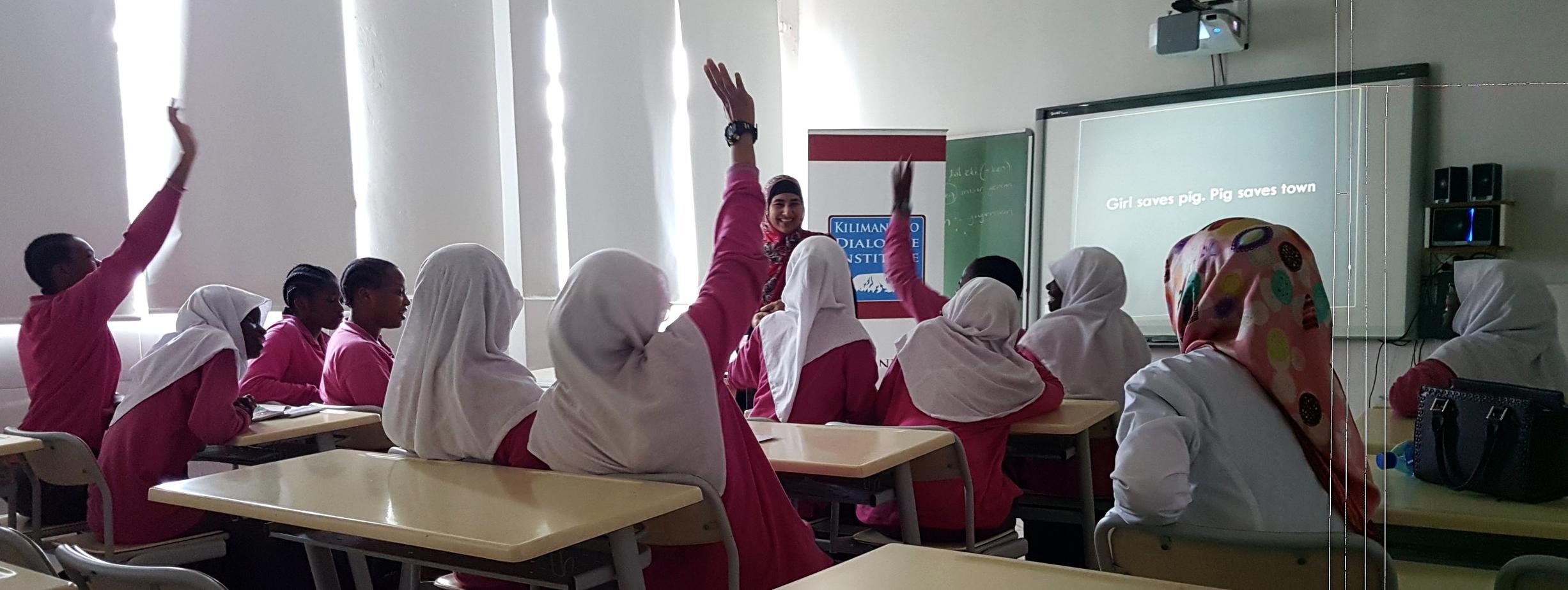 Feza Girls Secondary School - Kawe - May 2018