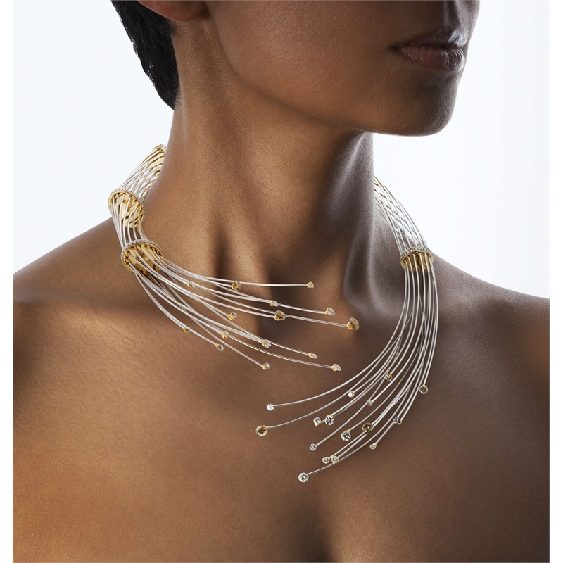 """Fusion"" - Platinum & Yellow gold - Diamonds"