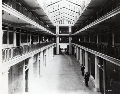 Arcade interior, 1910