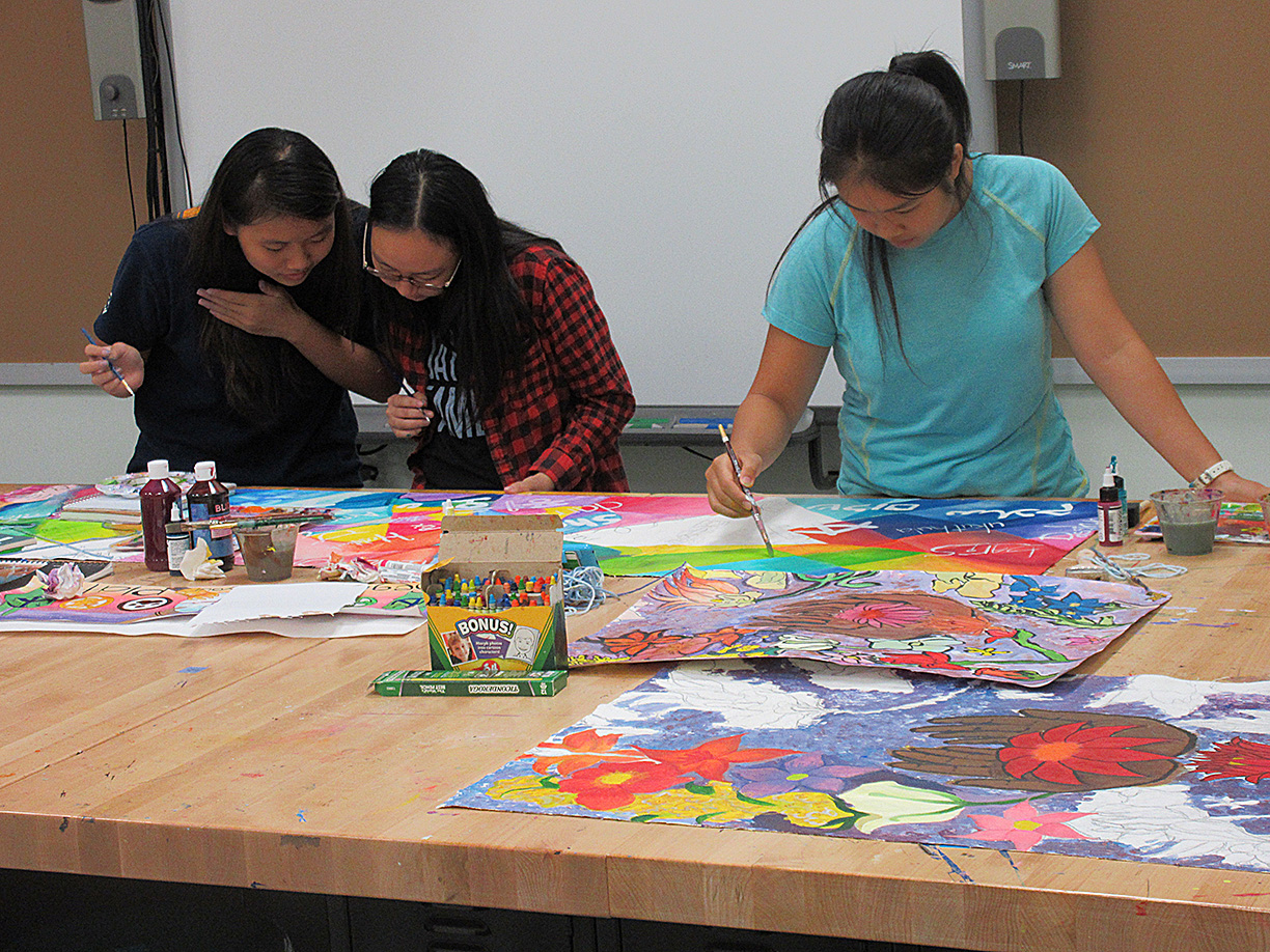 """CITYarts is a great opportunity to work with the community and to develop my art skills!"