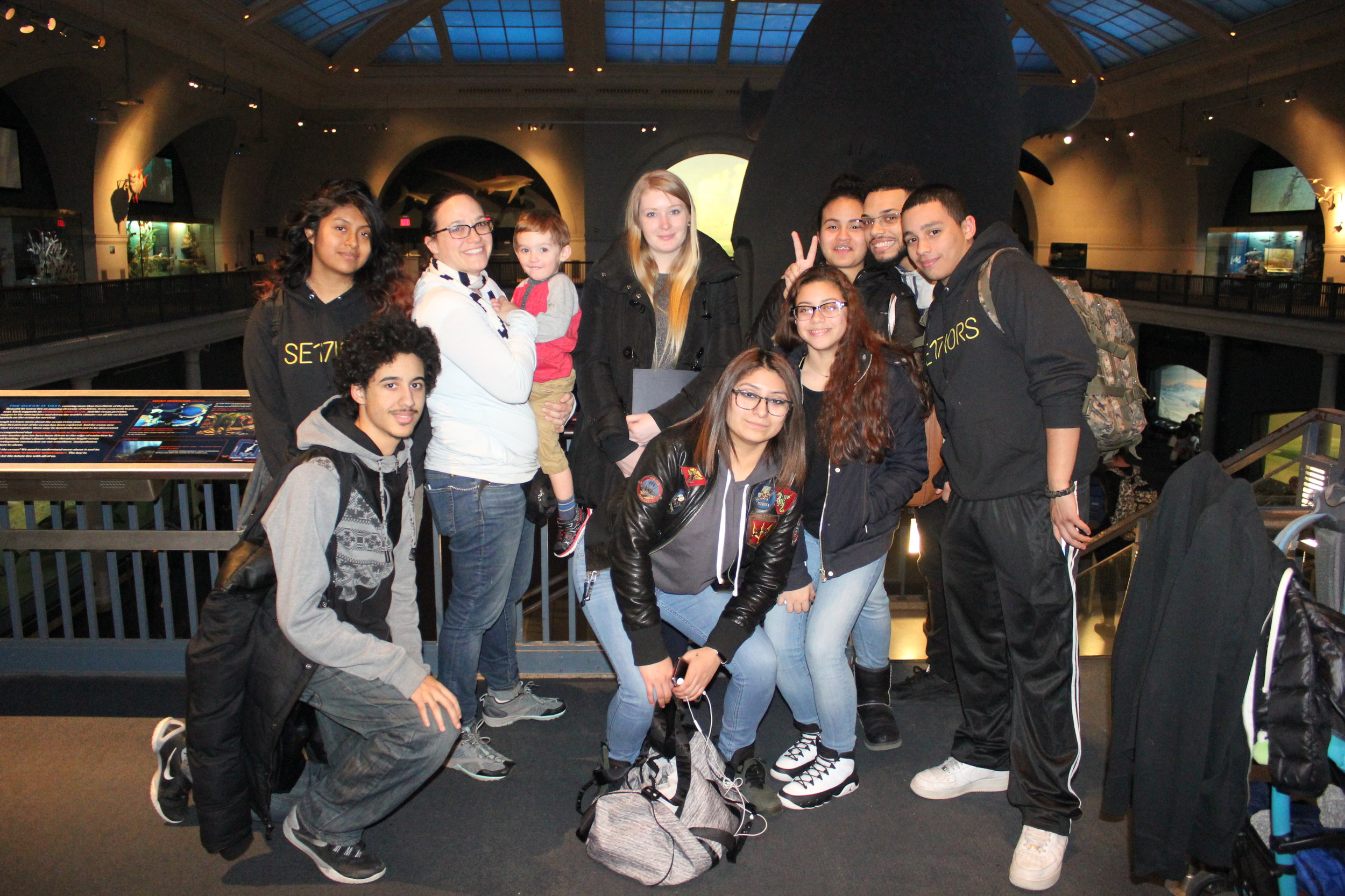 Trip to the Natural History Museum! - The High School for Law, Advocovy, and Community Justice visited the Natural History Museum with CITYarts to explore the Planitarium!