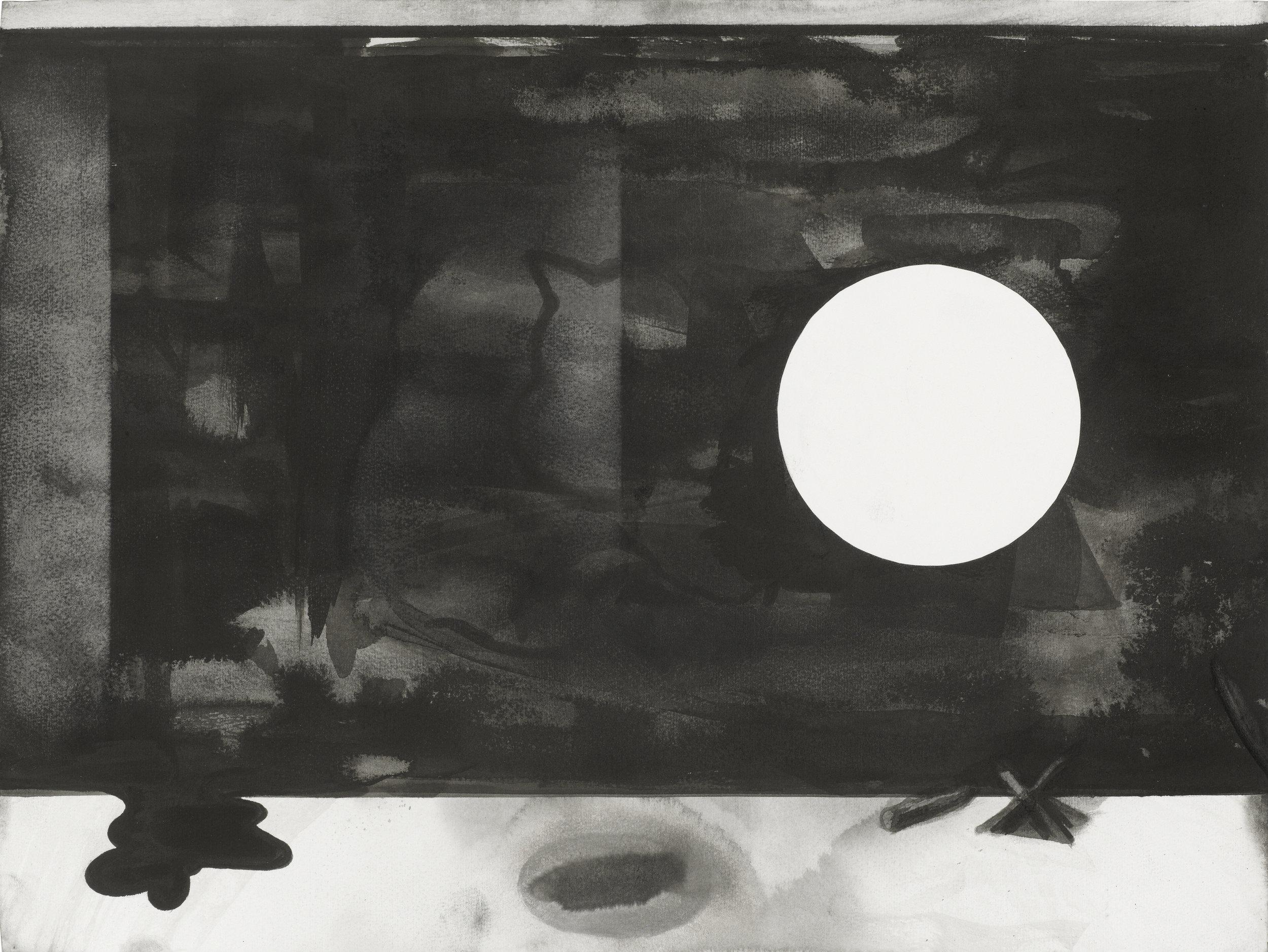 Ich war noch nie in London, 2018, Tusche auf Papier, 35,8 x 47,5 cm.jpg