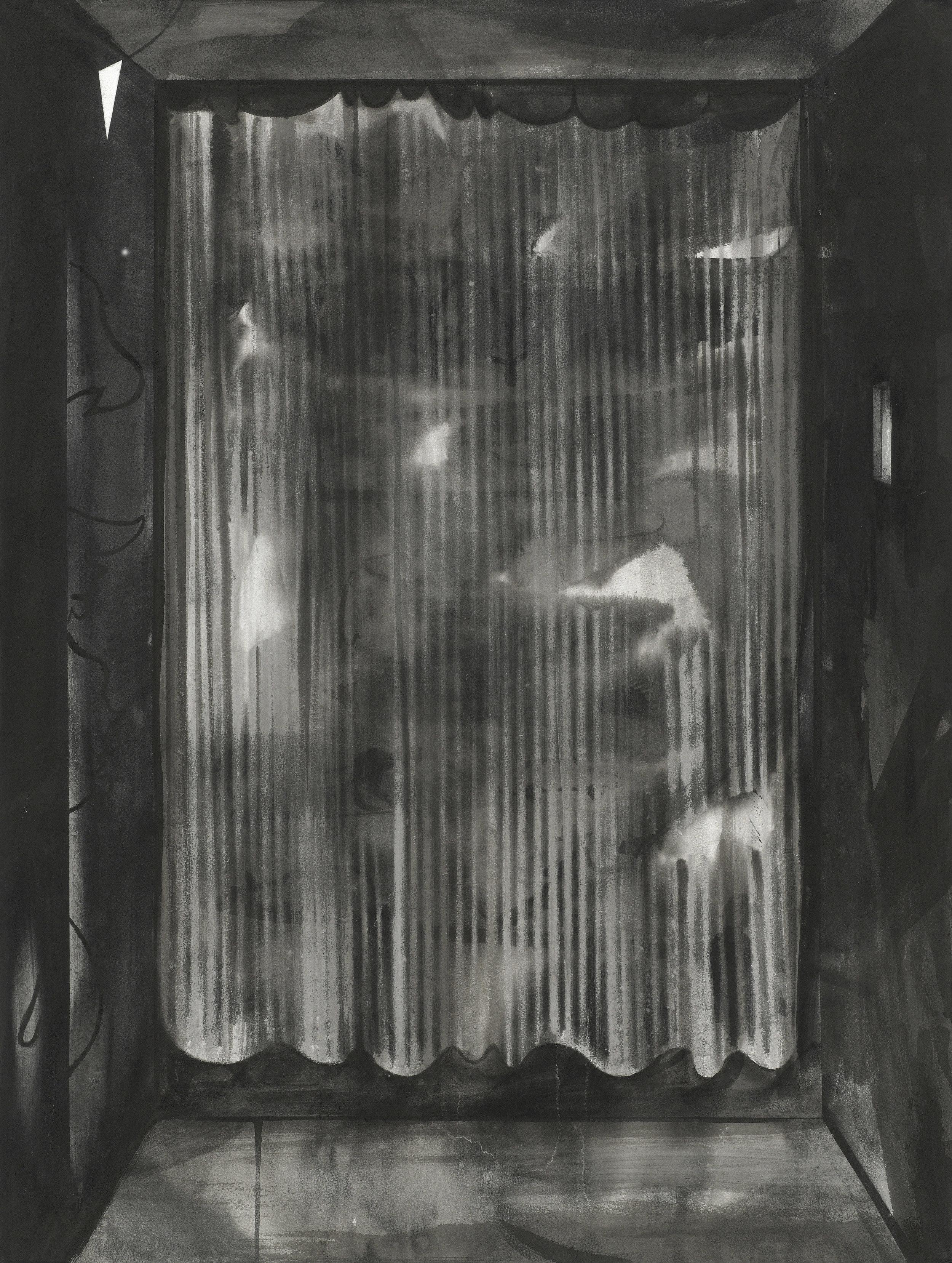 Der Vorhang, 2018, Tusche auf Papier, 85,5 x 64,5 cm.jpg