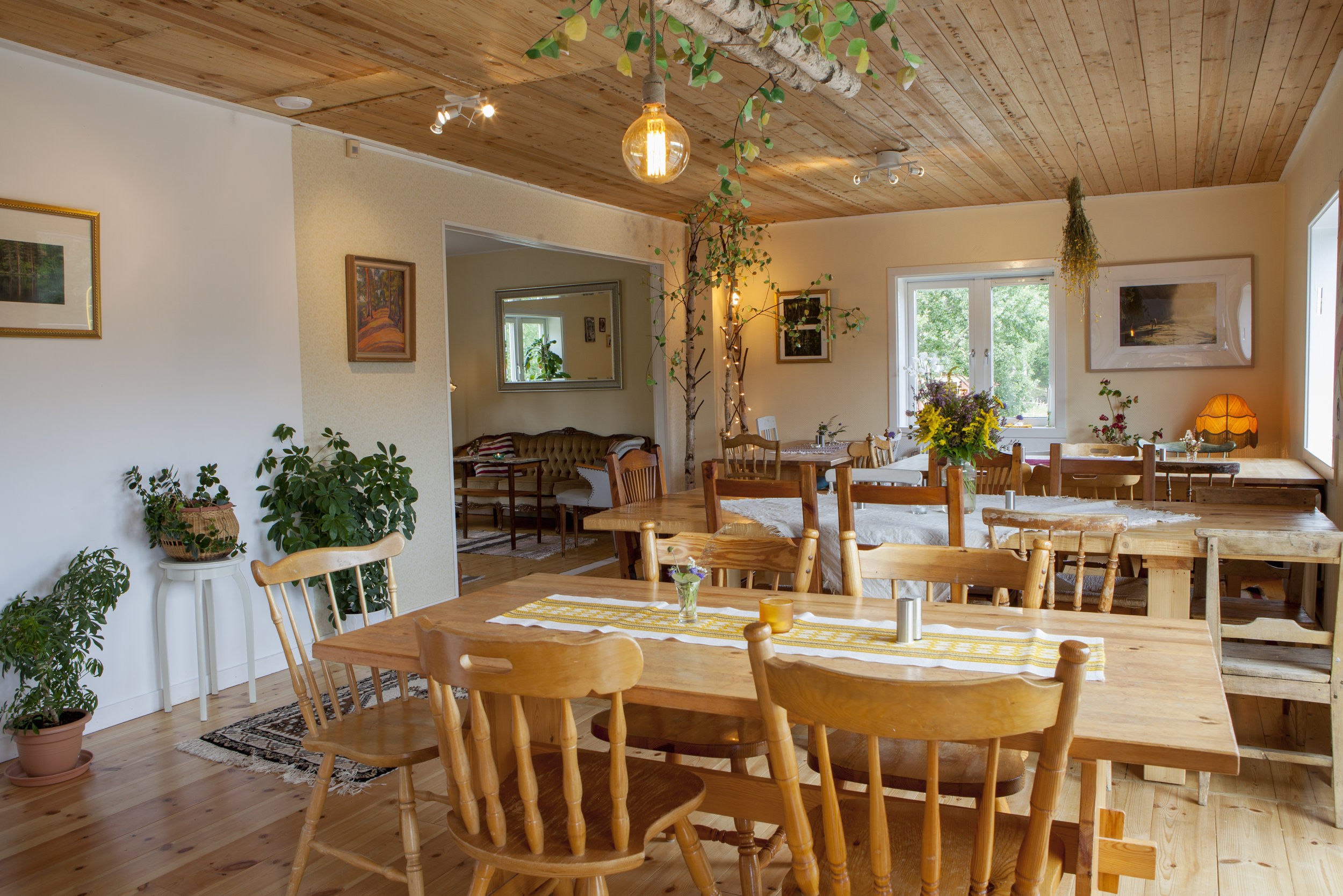 Our homely dining hall -