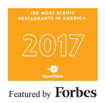 100 Most Scenic Restaurants in America - 2017 -