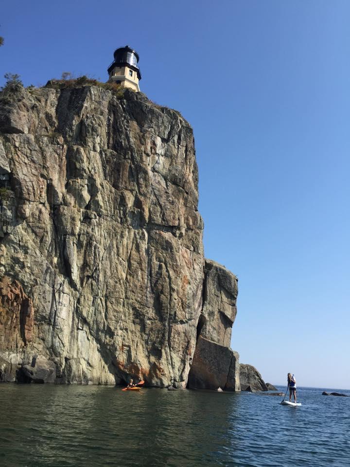 Paddle at Split Rock Lighthouse