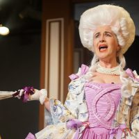 As Marie Antoinette in THE REVOLUTIONISTS with Organic Theater Company (Photo: Anna Gelman)