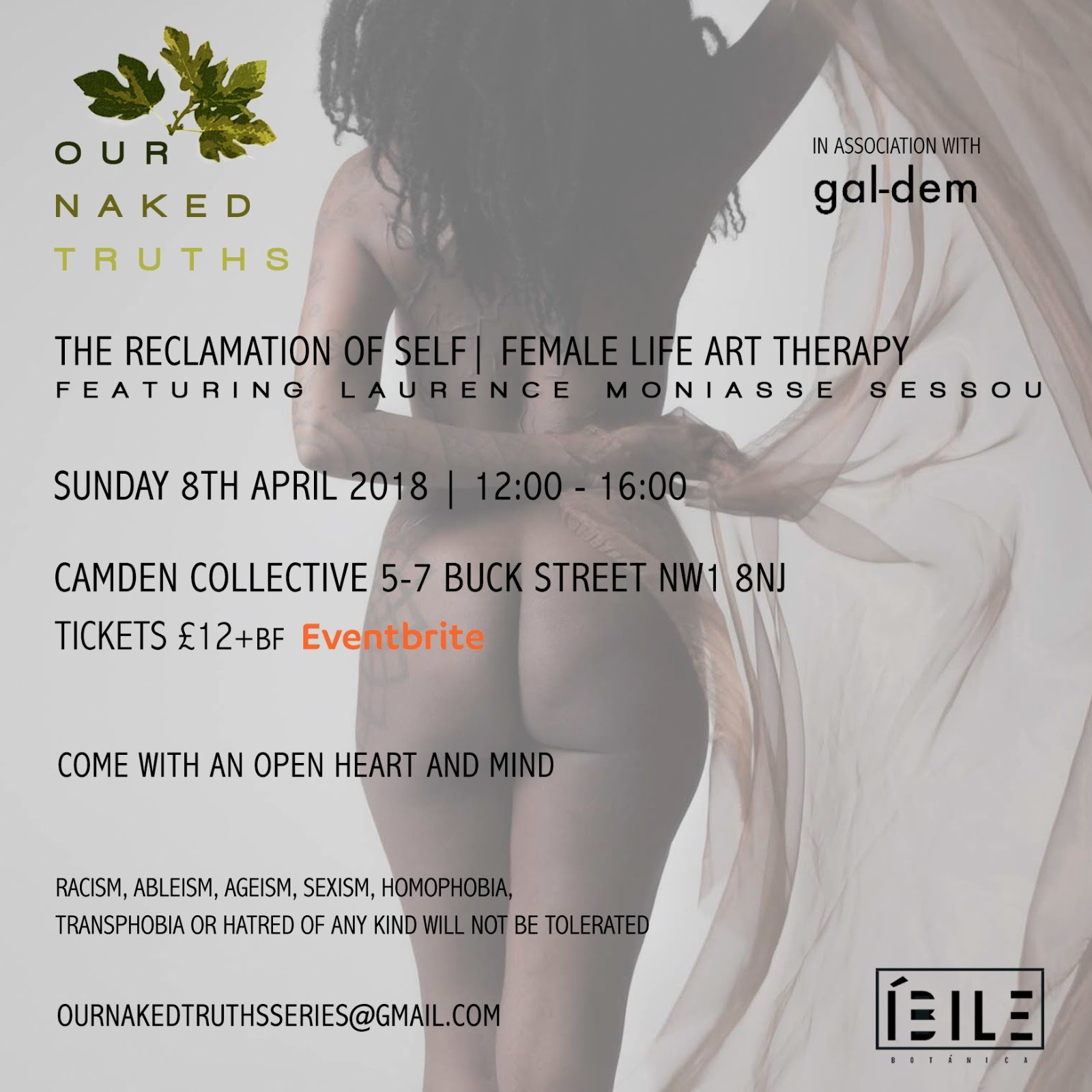 OUR NAKED TRUTHS APRIL EVENT