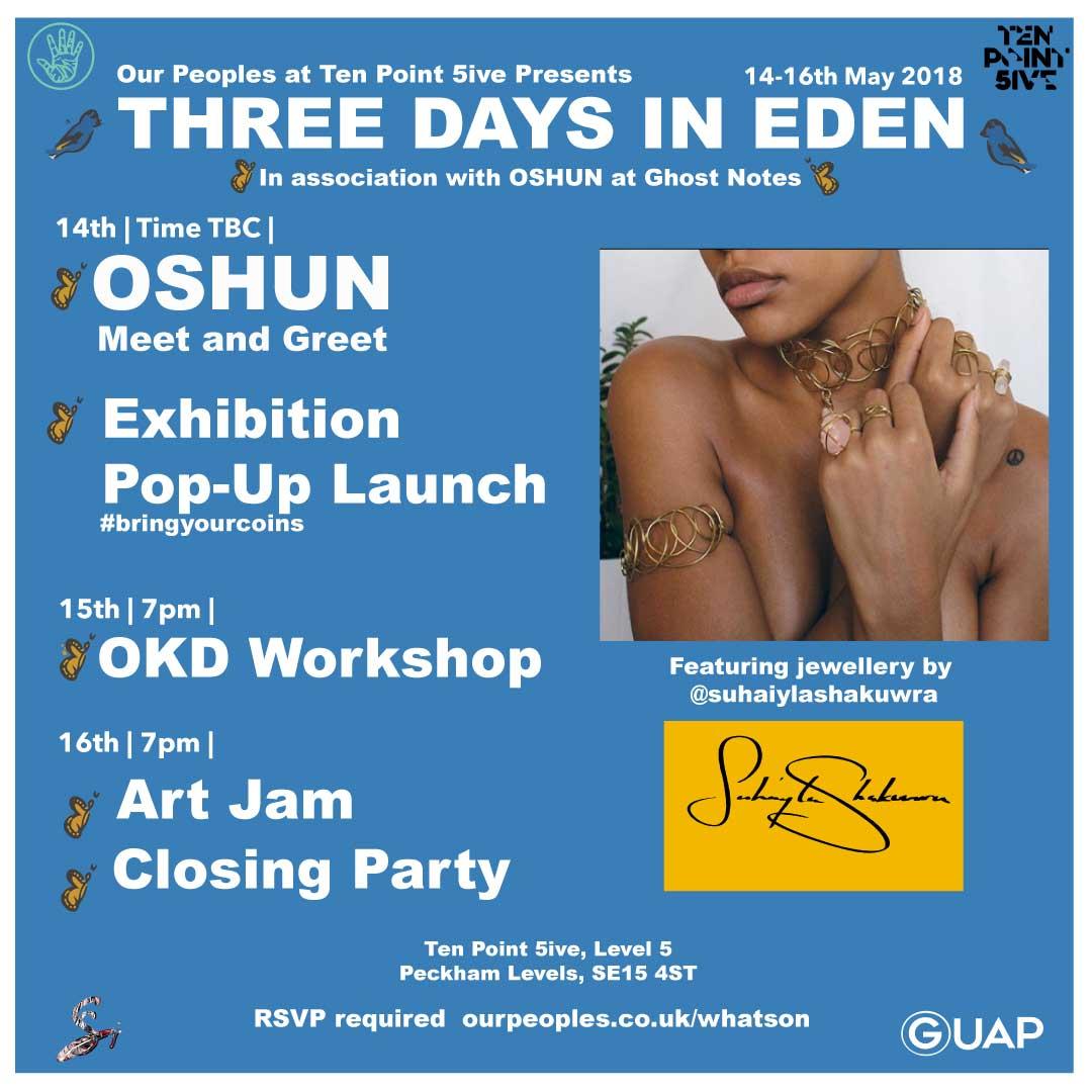 THREE DAYS IN EDEN