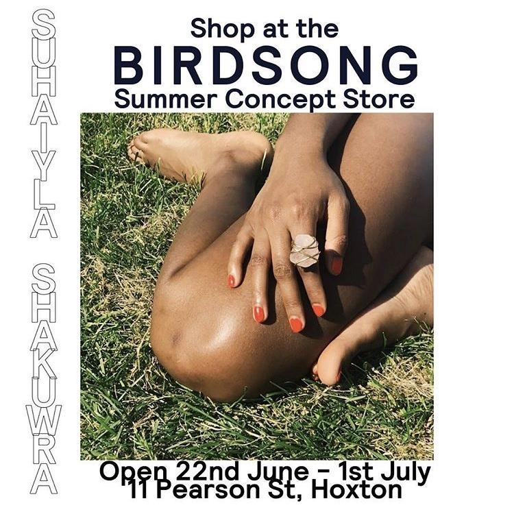 BIRDSONG SUMMER CONCEPT STORE