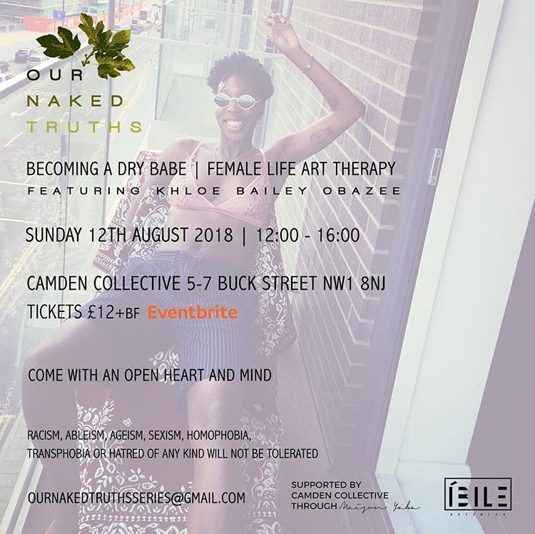 OUR NAKED TRUTHS AUGUST EVENT