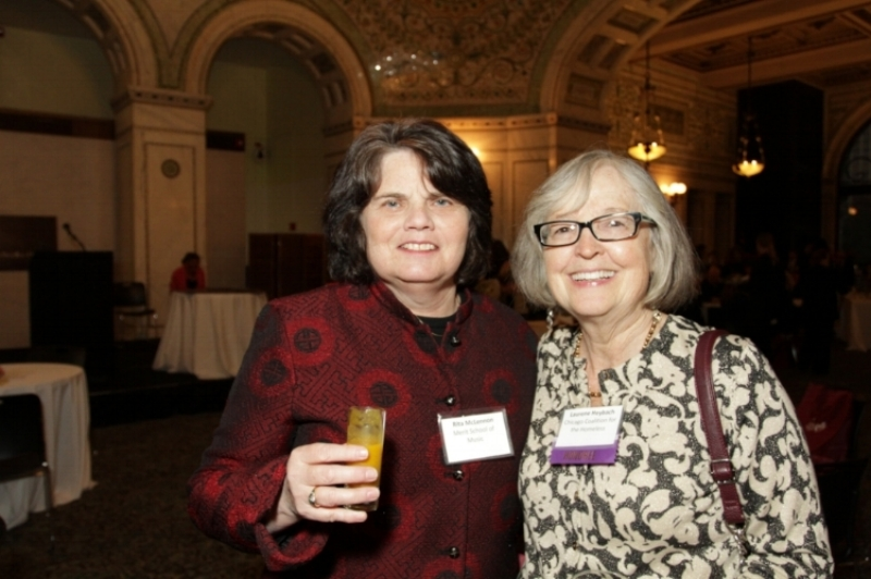 Two stellar advocates for justice who have been Diane's friends, advisors and colleagues for decades, Rita McLennon and Rene Heybach. Rita led the Shriver Center and the National Clearinghouse for Legal Services for many years and Rene was the first Director fo the Law Project for the Chicago Coalition for the Homeless, whose work with Diane in the  Norman  case inspired Ruth White in forming the National Center on Housing and Child Welfare.