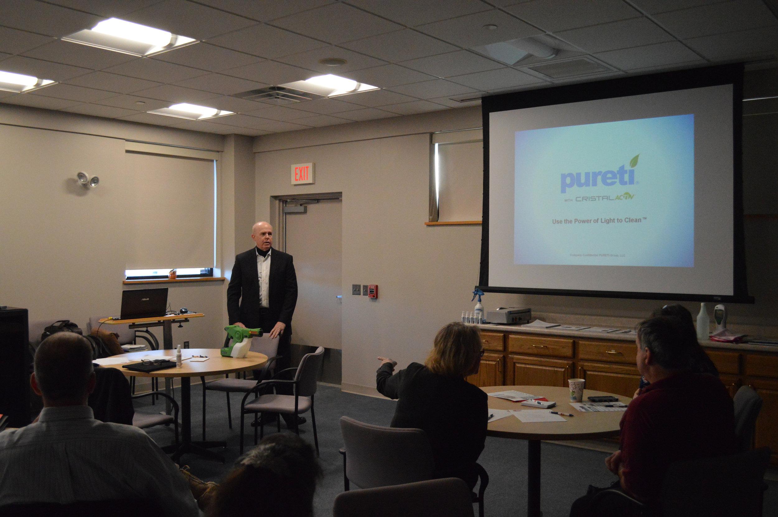 Glen Finkle, Pureti Systems