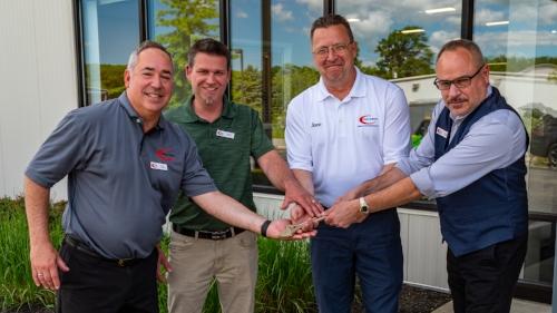 From left to right: Phil Sferes, Josh White, Steve Butler, Greg Sferes