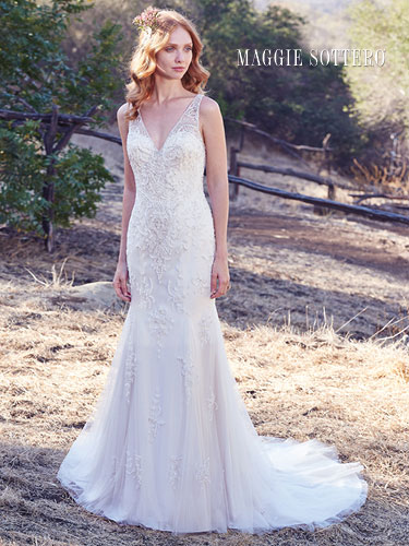 Maggie Sottero Kyra UK 16 was £1795 now £895
