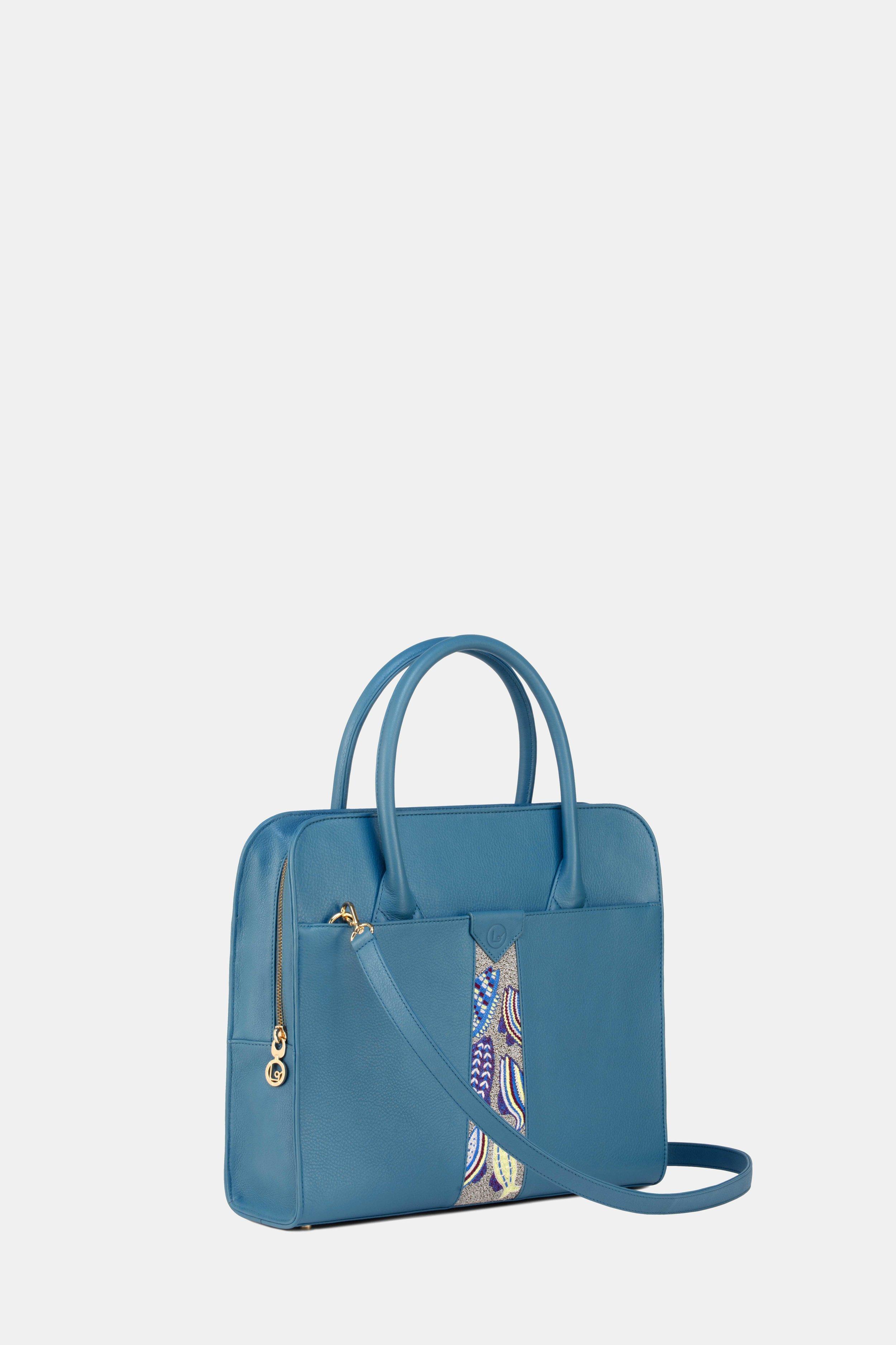 Diana Attache French Blue