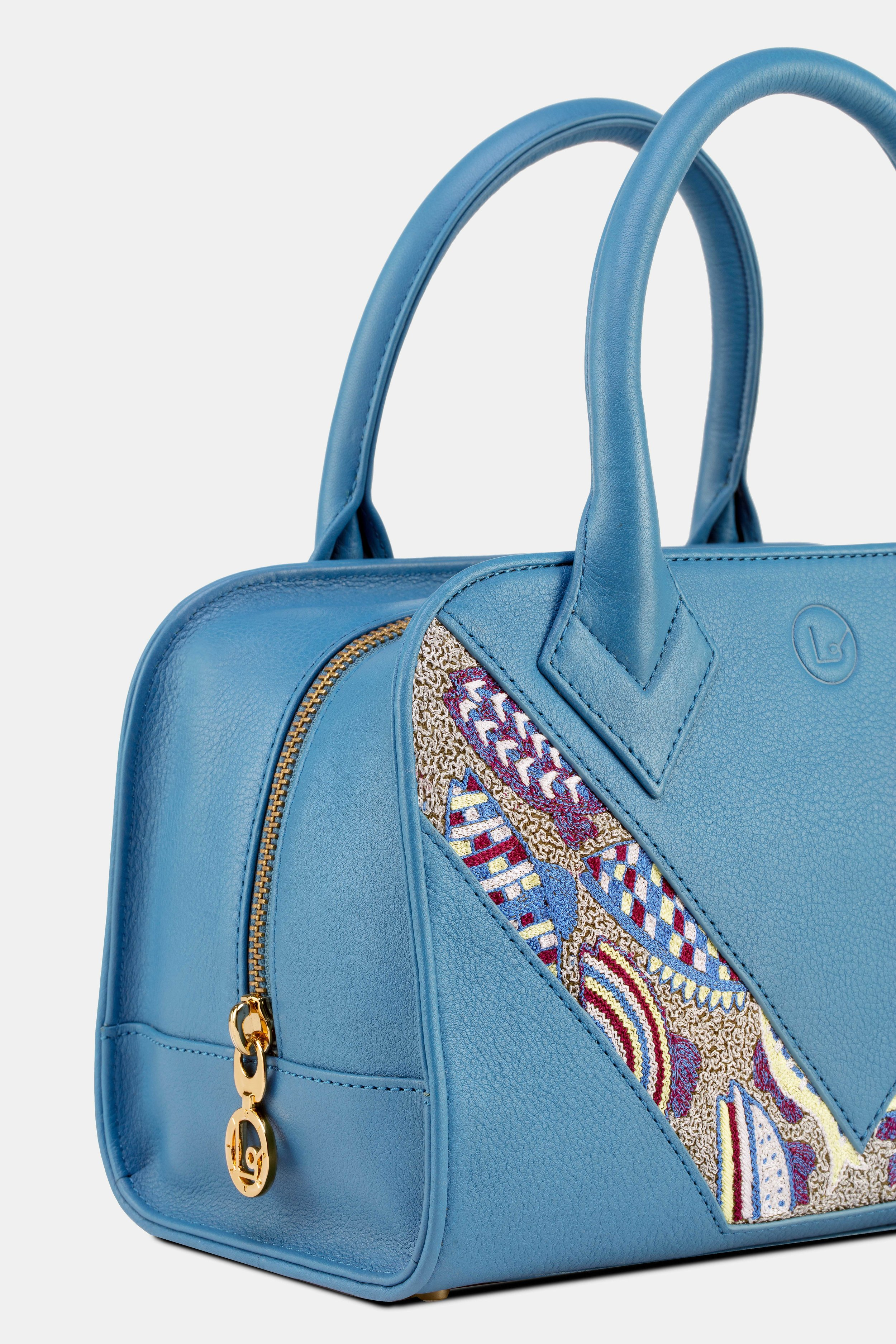 Diana Satchel French Blue