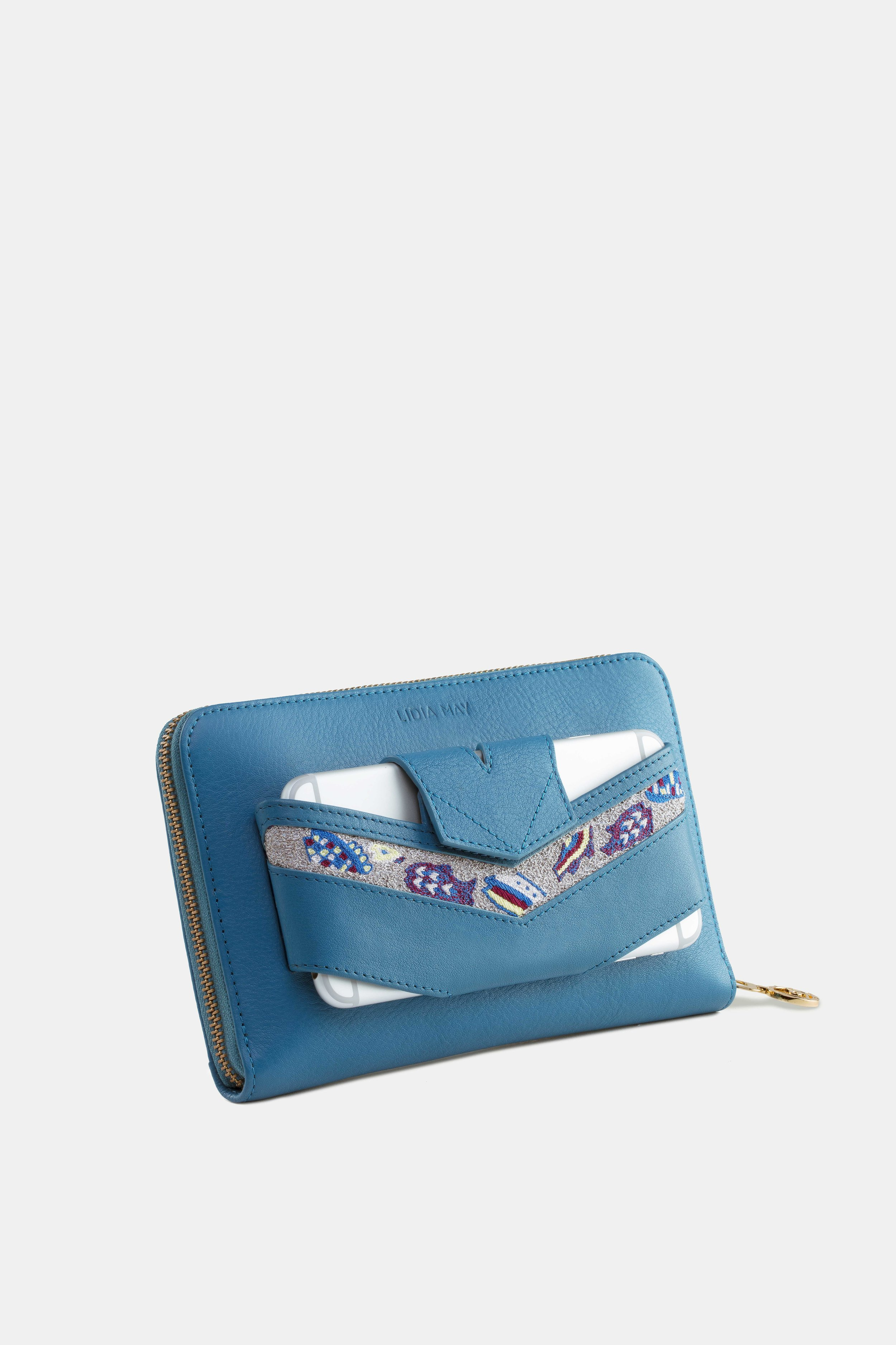 Diana Pouch French Blue