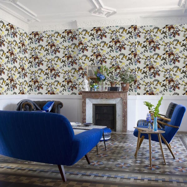 Butterfly Parade, Christian Lacroix collection, Designers Guild – £68 per roll