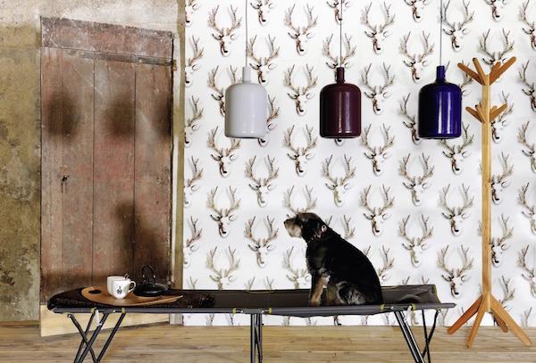 Rudolf, Wonderland collection, Elitis –£159.80 per pack of 9 adhesive panels