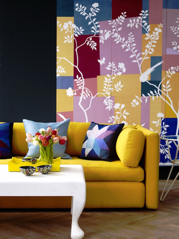 Matisse-inspired chinoiserie design, de Gournay – price available on request. Image courtesy of House & Garden magazine