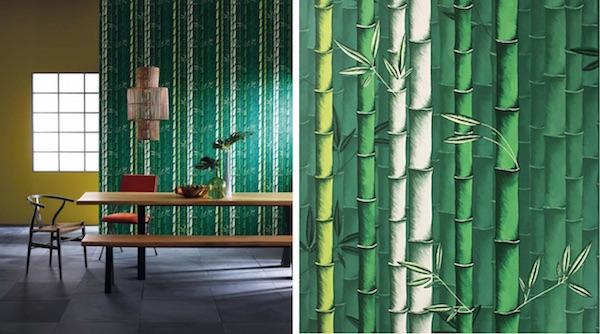 Bamboo, Enchanted Gardens collection, Osborne & Little –£65 per roll