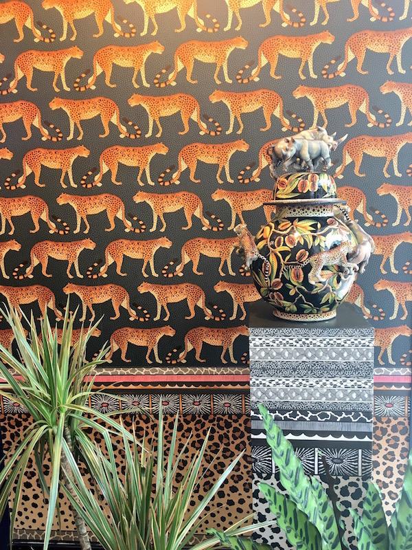 Leopard Walk, Ardmore collection, Cole & Son – £80 per roll